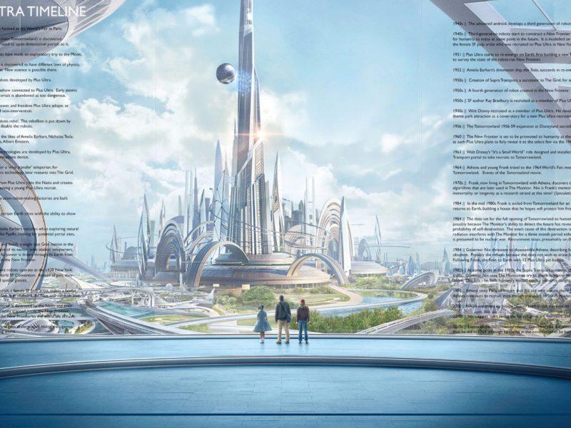 2016 Tomorrowland Movie 4k