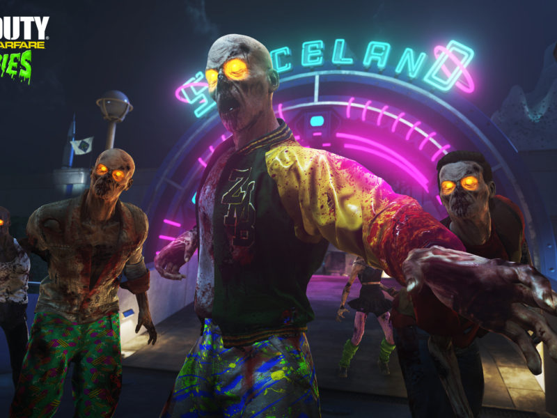 Call Of Duty Infinite Warfare Zombies Spaceland Hd