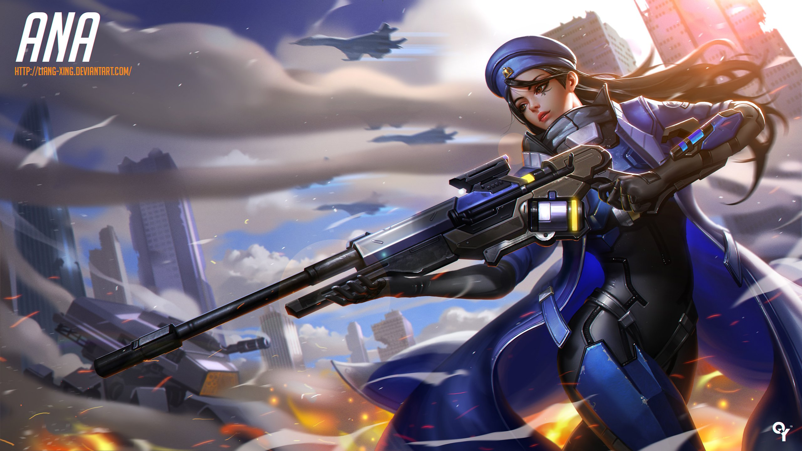 Ana Overwatch Hd High Definition Wallpaper