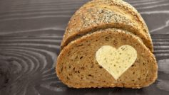 Bread Love Heart