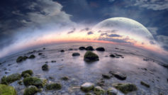 Fisheye Beach Dreamy World Wide