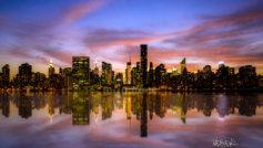 Manhattan Sunset Wide
