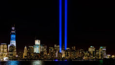 Wtc Memorial Lights September 11 2012