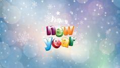 B Happy New Year Words