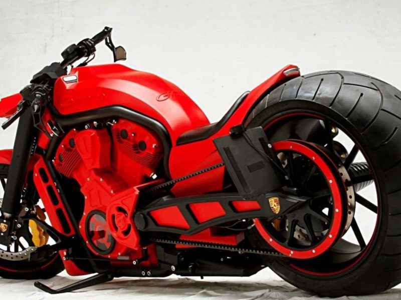 Porsche Custom Motorcycle: Motorcycle Porsche Custom Bike