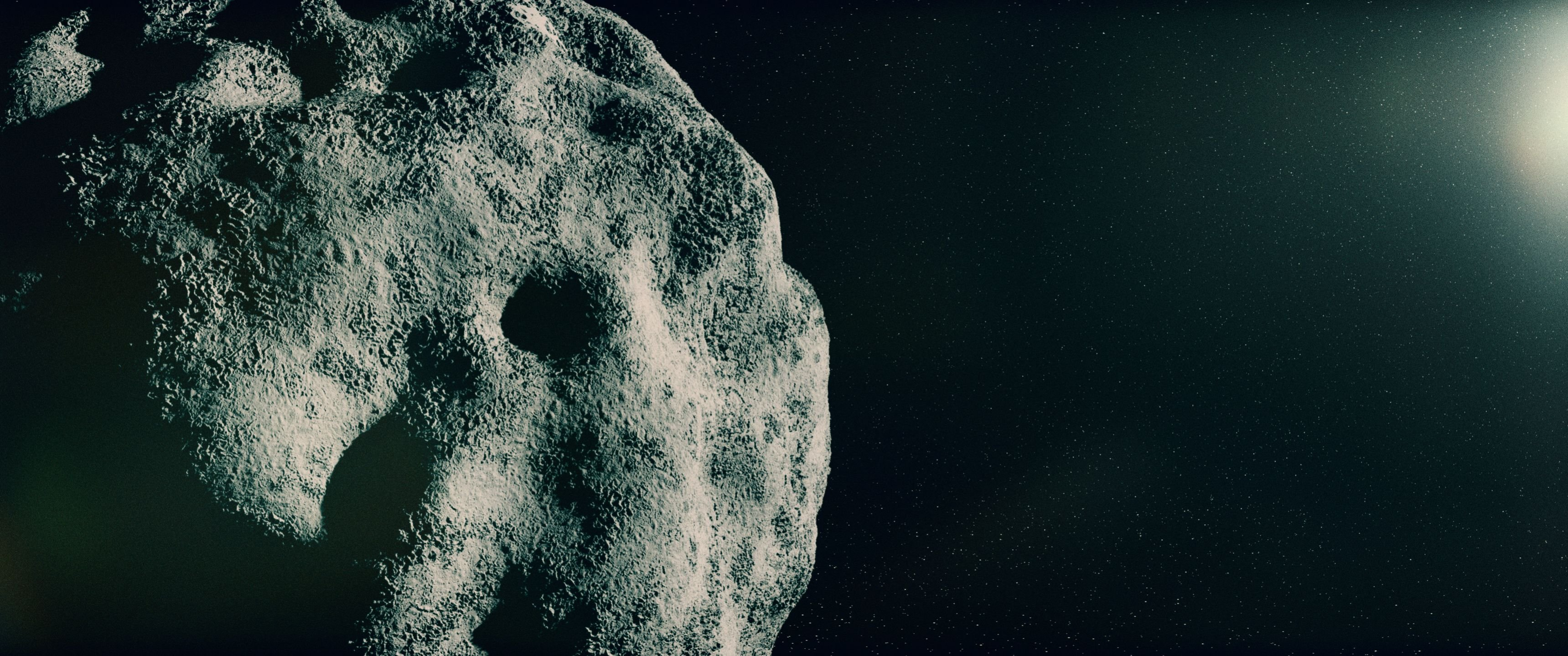 Asteroid - High Definition Wallpaper