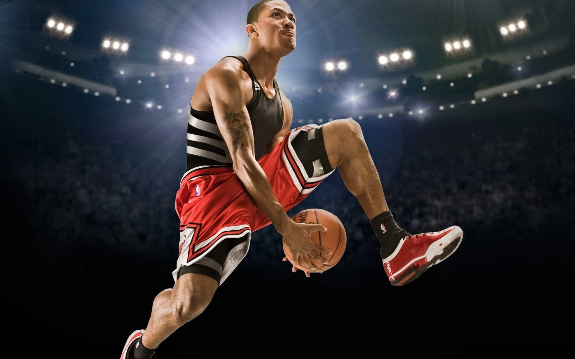 Derrick Rose Shoes Derrick Rose Hd - High Definition Wallpaper