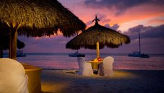 Aruba Beach At Night Hd