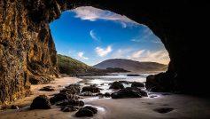 Beach Cave New Zealand