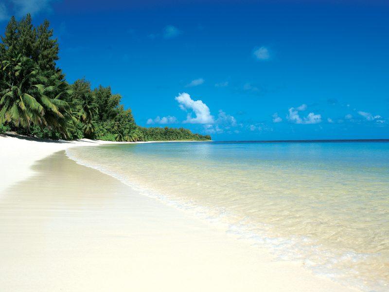Beautiful Beach Blue Sky