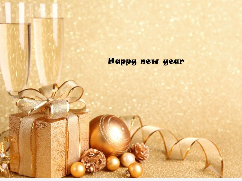 Image Inspirational Happy New Year Champagne Background Hd
