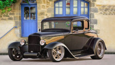 1932 Ford 5 Window Coupe (blk)