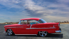 1955 Chevy Belair Hardtop (red)
