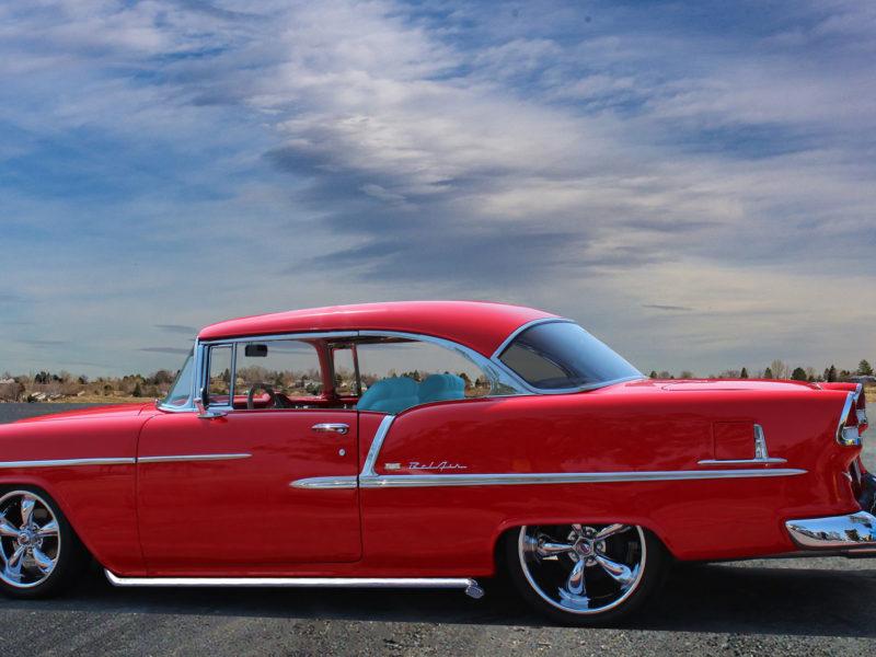 1955 Chevy Belair Hardtop (red)