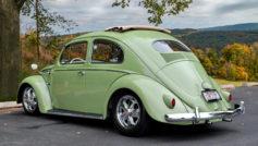 1956 Vw Oval Window Rag Top