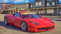 2015 Ferrari 458 (red)