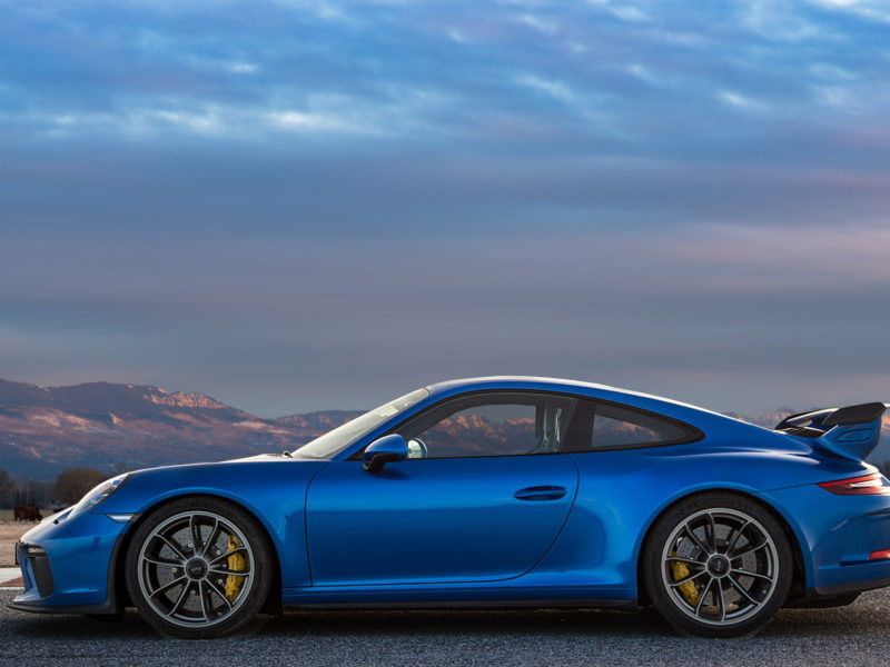 Porsche 911 Gt3 Rs (blue) , High Definition Wallpaper