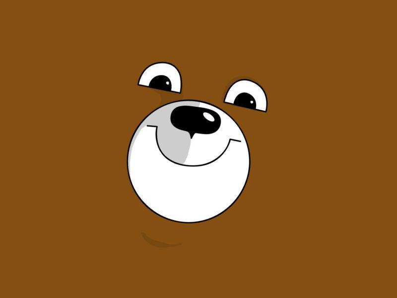 Cute Bear face
