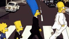 The Simpsons at Abbey Road