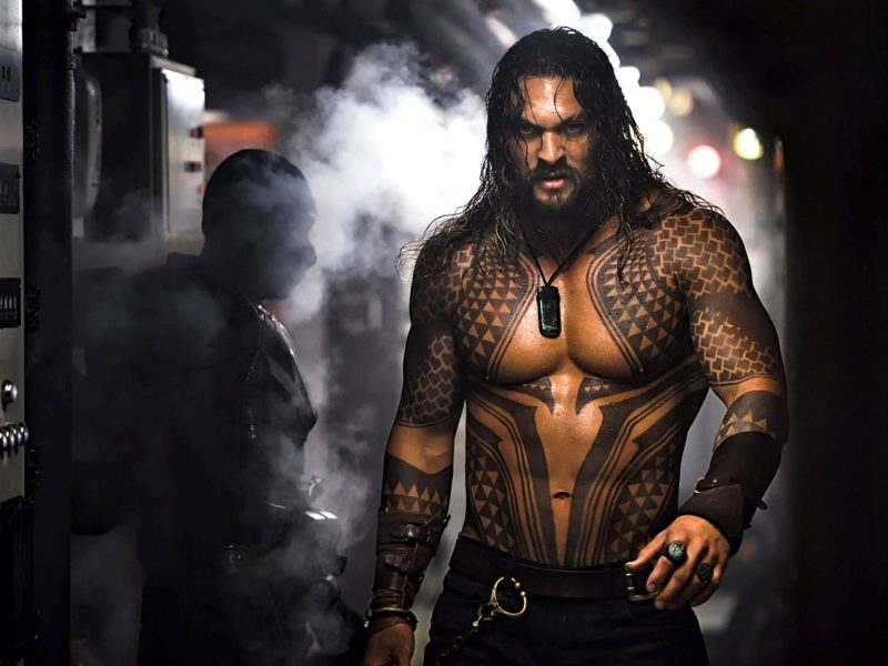 Jason Momoa In Aquaman